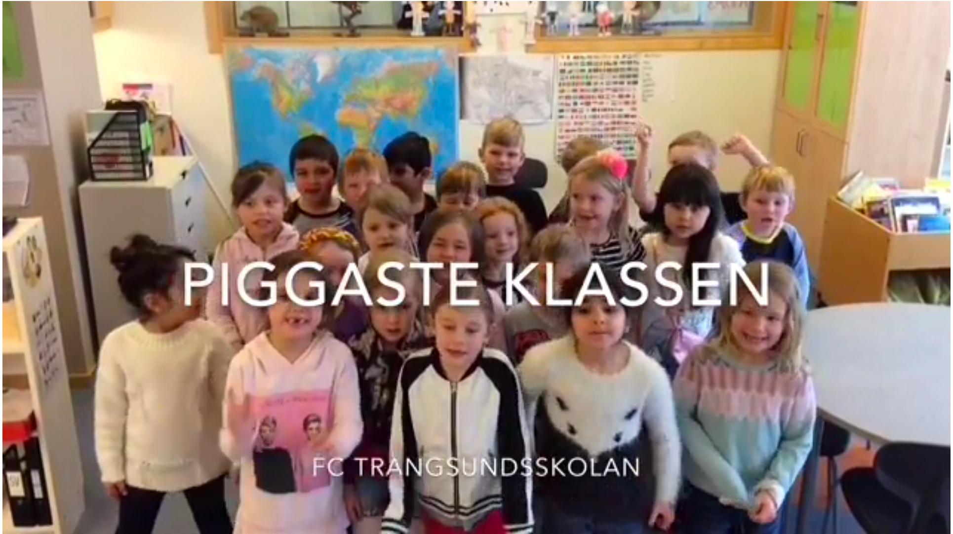 ActiveS - Sveriges Piggaste Klassrum - Trångssundsskolan FC, Huddinge