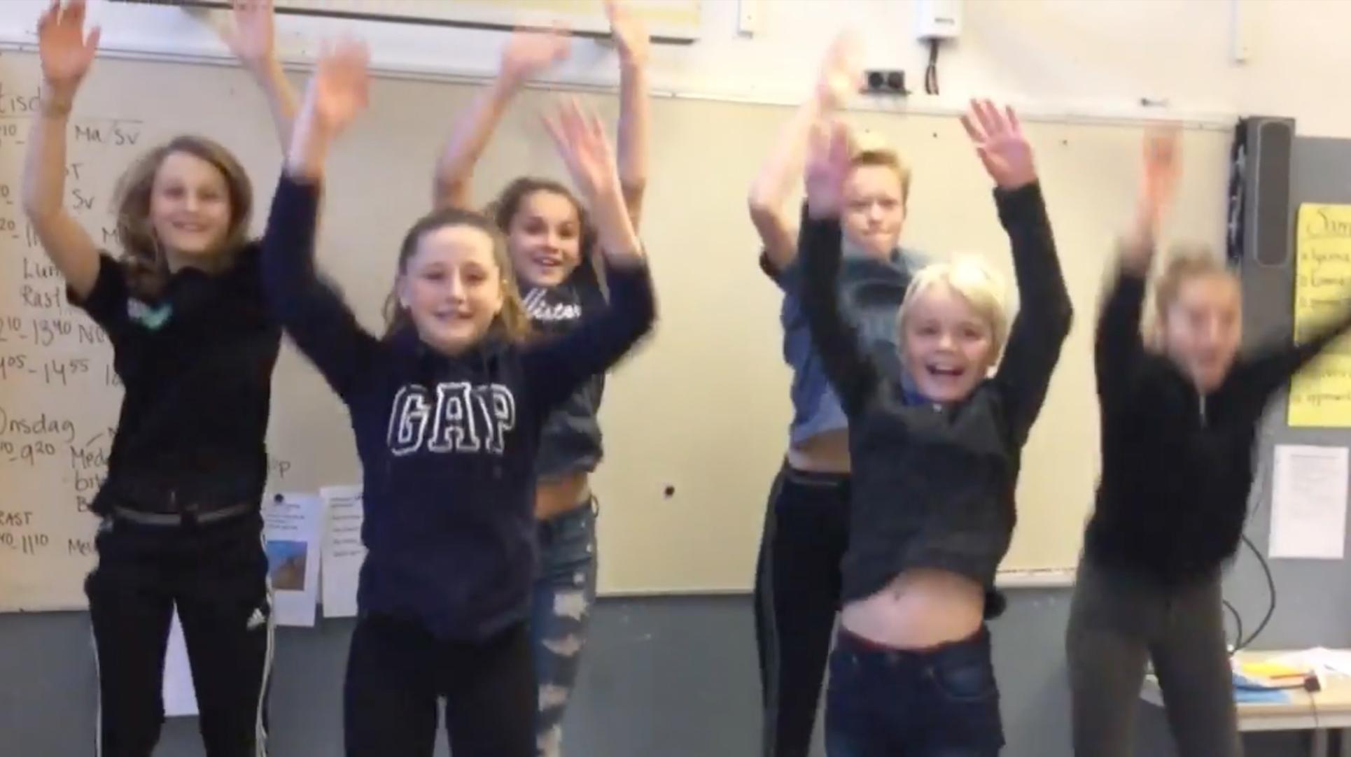 Vistaskolan 6c i Huddinge tävlar med oss i Sveriges Piggaste Klassrum